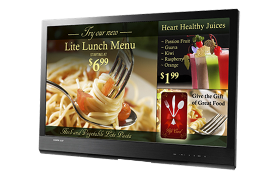 DigitalSignage-Restaurant