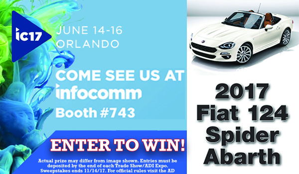InfoComm Car Slide '17